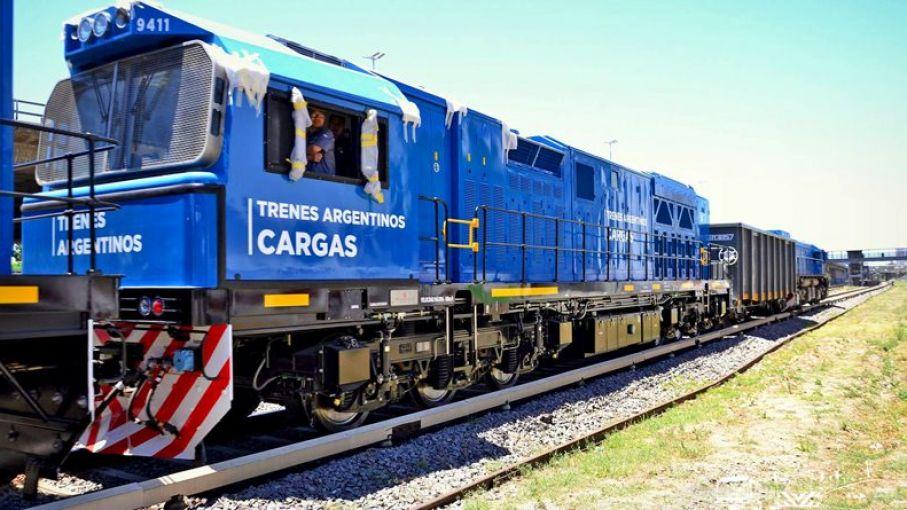 El 62% de lo transportado en tren viene del agro